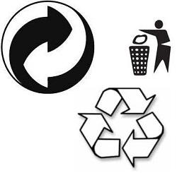 simbolo raccolta differenziata