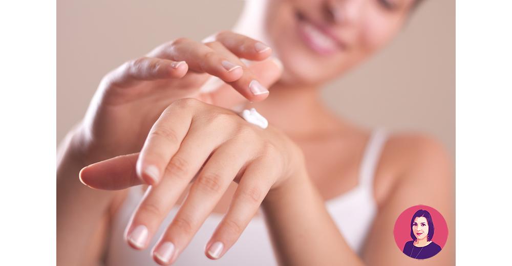 macchie sulle mani